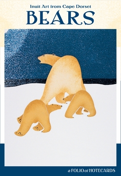 notecards bears inuit cape dorset