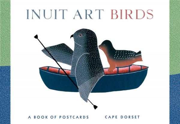 inuit arts birds postcards